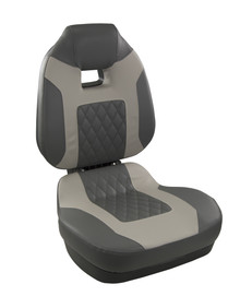 Fish Pro II HB Fold Down Seat Charcoal & Gray