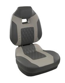 Fish Pro II HB Fold Down Seat Charcoal & Gray