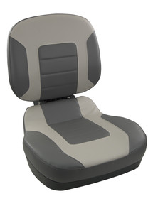 Fish Pro II LB Fold Down Seat Charcoal & Gray