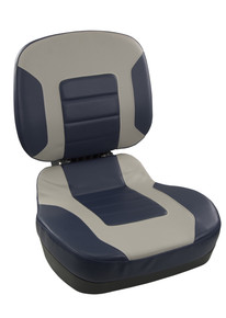 Fish Pro II LB Fold Down Seat Navy & Gray