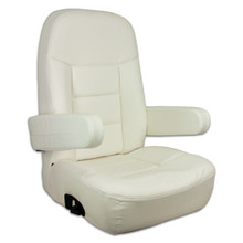 Mariner Pilot Helm Seat Off White