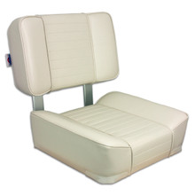 Deluxe Upholstered Seat White