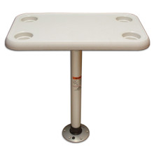 Thread-Lock Table Package with Rectangular Table Top