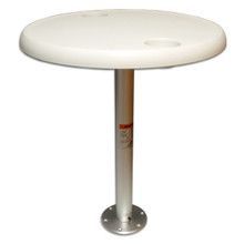 Stowable Table Package Round Table Top