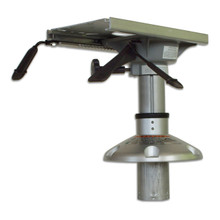 "Mainstay Thru-The-Deck Pedestal with Seat Mount 9.5""-14.25"""
