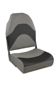 Premium Folding Seat Gray & Charcoal