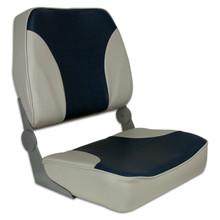 Fold Down XXL Seat Gray & Navy