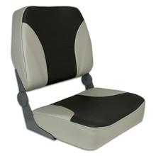 Fold Down XXL Seat Gray & Charcoal