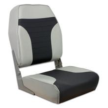 Fold Down Economy Coach HB Seat Gray & Charcoal