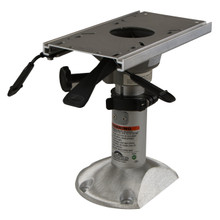"Mainstay Power Rise Adjust 12.5"" to 15.5"" Pedestal w/Flatside Floor Base 2-7/8"""