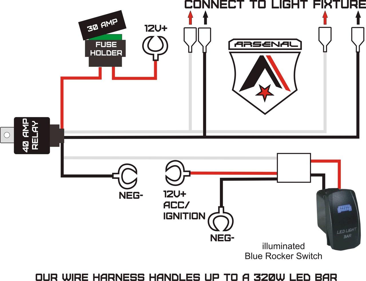 How To Wire Led Light Bar In Truck: #1 40 inch LED CREE Light Bar by Arsenal Offroad 228w Spot Flood Combo beam Offroad Trucks 4x4 JEEP Trucks UTV SUV 4x4 Polaris Razor 1000 Tractor rh:arsenal-offroad.com,Design