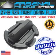 No.1 Twist Polaris floor Rocker Panel Drain Plug RZR XP900 XP1000 XP4 TURBO (1PC)