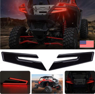 2020 RZR PRO XP XP4 Smoked LED Tail Lights by Arsenal Rear Tail Lamp Replacement for POLARIS 2020 RZR PRO XP XP 4 (1 Pair) Best on the Market!