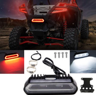 Universal Rear Facing Chase Light by Arsenal, 5 function lighting Modes: Our PRO LED chase light boasts 5 lighting modes flashing strobe, running, brake, rear light bar curtesy or Dome light