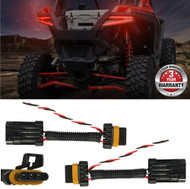 2015-2020 Polaris RZR Tail Light Power Harness (2-PACK) for Whip/Brake Light/License Plate Light Fits: POLARIS 2015-2020 RZR 1000 900 XP 4 TURBO Best on the Market!