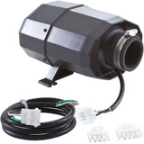 Blower, HydroQuip Silent Aire, 1.0hp, 115v, 4.8A, 3 or 4 pin AMP