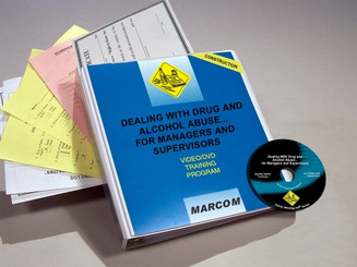 Drug and Alcohol Abuse for Managers and Supervisors in Construction Environments DVD Program