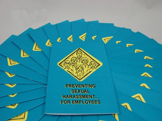 Preventing Sexual Harassment for Employees Employee Booklet (Pack of 15)