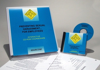 Preventing Sexual Harassment for Employees Interactive CD-ROM Course