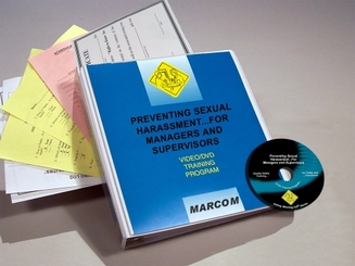 Preventing Sexual Harassment for Managers and Supervisors DVD Program