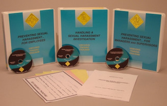 Sexual Harassment in the Workplace Package (all 3 DVDs)