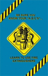 Using Fire Extinguishers Poster