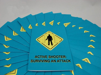 Active Shooter: Surviving an Attack Employee Booklet (Pack of 15)