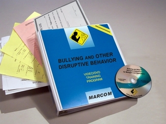 Bullying and Other Disruptive Behavior: for Managers and Supervisors DVD Program