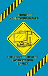 Computer Workstation Safety Poster