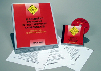 Bloodborne Pathogens in First Response Environments CD-ROM Course