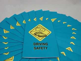 Driving Safety Employee Booklet (Pack of 15)