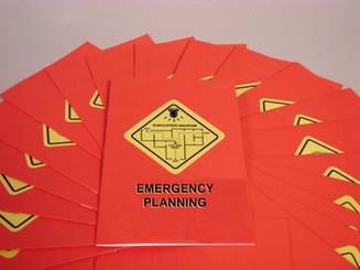 Emergency Planning Booklet (Pack of 15)