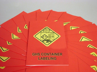 GHS Container Labeling Employee Booklet (Pack of 15)