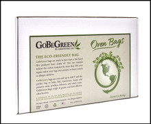 Eco Oven Bag - Garden MASTER CASE (10/100ct Boxes)