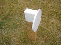 "Steel Challenge Target -  8"" Diameter 3/8"" Steel Plate"