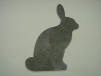 Rabbit Upright Silhouette - Free Shipping