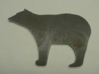 Brown Bear Silhouette - Free Shipping