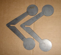 Walking Flipping Target Kit - You Weld Together