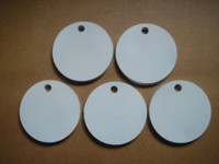 "Five 4 Inch Round Hangers 3/8"" AR500 NRA Action Pistol Plates (FREE SHIPPING!)"
