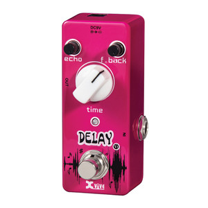 <p>Smooth, warm, vintage delay sounds?. Echo, feedback and time controls? True bypass? 9V DC power supply required? Current Draw: 10mA? Compact, rugged metal chassis</p>