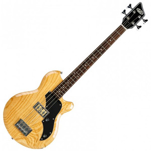 <p><span>The Supro 2041 Huntington I is a newly-designed, short-scale bass combining the classic body shape of the early &lsquo;60s Ozark model with vintage-correct passive electronics and sonic inspiration from the Supro Pocket Bass of the same era. The unique Gold Foil pickups found in the Huntington bass are authentic replicas of the original &ldquo;Clear-Tone&rdquo; pickups found in the vintage Supro Violin, Taurus and Pocket Bass models. These high-output single coils deliver legendary, deep low-end, with very low noise and a massive, broadband sound that stays warm and balanced across the entire range of the instrument.</span><br /><br /><span>The Supro Huntington bass is available in single, double and triple pickup configurations with an optional piezo bridge and a variety of unique metallic and transparent colors over a choice of Mahogany, Swamp Ash or Alder tonewood for the body. The Huntington&rsquo;s maple neck has a smooth, black satin finish and 30&rdquo; short-scale length, with a glued in, set-neck joint that provides ergonomic access to the entire rosewood fretboard. The set neck design, premium woods and high-end hardware along with the unique, vintage correct Supro pickups make the Huntington both a world-class recording bass and gigging workhorse instrument that is incredibly easy to play; especially for musicians accustomed to the shorter neck of a 6-string guitar.</span><br /><br /><span>Although its scale is short, the sound of the Huntington bass is astoundingly large&mdash;boasting a tight, confident, buttery low end, articulate midrange and crisp highs. The single pickup Huntington I model projects a warm, balanced sound with a passive tone control that acts as an &ldquo;old-school&rdquo; knob, taming the highs and drawing the bass deeper back into the mix. A piezo equipped bridge option adds in an acoustic bass sound via toggle switch. When the piezo pickups are activated, the tone knob functions as a blender, allowing the player to mix in