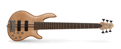 The A6 Plus FMMH is the reference Cort bass designed and built for the working musician who requires excellent performance and rock-steady reliability gig after gig. Featuring neck-thru-body construction, premium tone woods, and Bartolini pickups and electronics, the A6 Plus FMMH delivers the sound and playability a working pro needs.