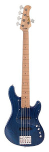 The Cort GB75JJ Aqua Blue 5 String Bass Guitar is one of those basses that instantly screams quality and oozes desirability. The hardware is high end, the feel is amazing,