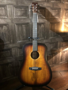 MorMusic exclusive!     We've managed to secure all of these beautiful LTD edition Tanglewood guitars!    These are essentially the same as the acclaimed Crossroads Dreadnaught but with the addition of a solid ceder top! RRP on these is £299 but as a special exclusive deal they're only £149! Be quick as these won't be in stock for long!  SHAPE: Dreadnought TOP: Hand Selected solid CEDAR   BACK: Mahogany SIDES: Mahogany NECK (MATERIAL): Mahogany FINGERBOARD: * BRIDGE: * BINDING: N/A SADDLE: ABS White, Compensating NUT (WIDTH): ABS White (43mm) SCALE LENGTH: 650mm MACHINE HEADS: Chrome Die Cast FINISH: Old Whiskey Barrel Burst Satin STRINGS: Bronze Light SKU: TWSTK