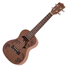 The Freshman ukulele range combines high quality tonewoods with smart designs. The UKSAPC is made from mahogany to achieve a balance of warmth and clarity. The rosewood fingerboard adds subtle, complex overtones to your songs for a more textured sound. The concert size is ideal for musicians who require a ukulele with a flexible sound and easy portability for the studio or on the road. Freshman's ukulele range offers practical features and affordable prices.