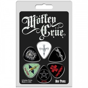 MOTLEY CRUE GUITAR PICKS - PACK OF 6