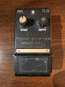Sound City PS-06 Phase Shifter - Pre-Owned