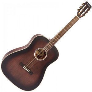 Vintage Historic Series Drop Shoulder Acoustic, Aged Finish