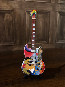 COLLECTIBLE MINIATURE GUITAR - FOOL