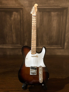 Collectable Miniature Guitar - Sunburst